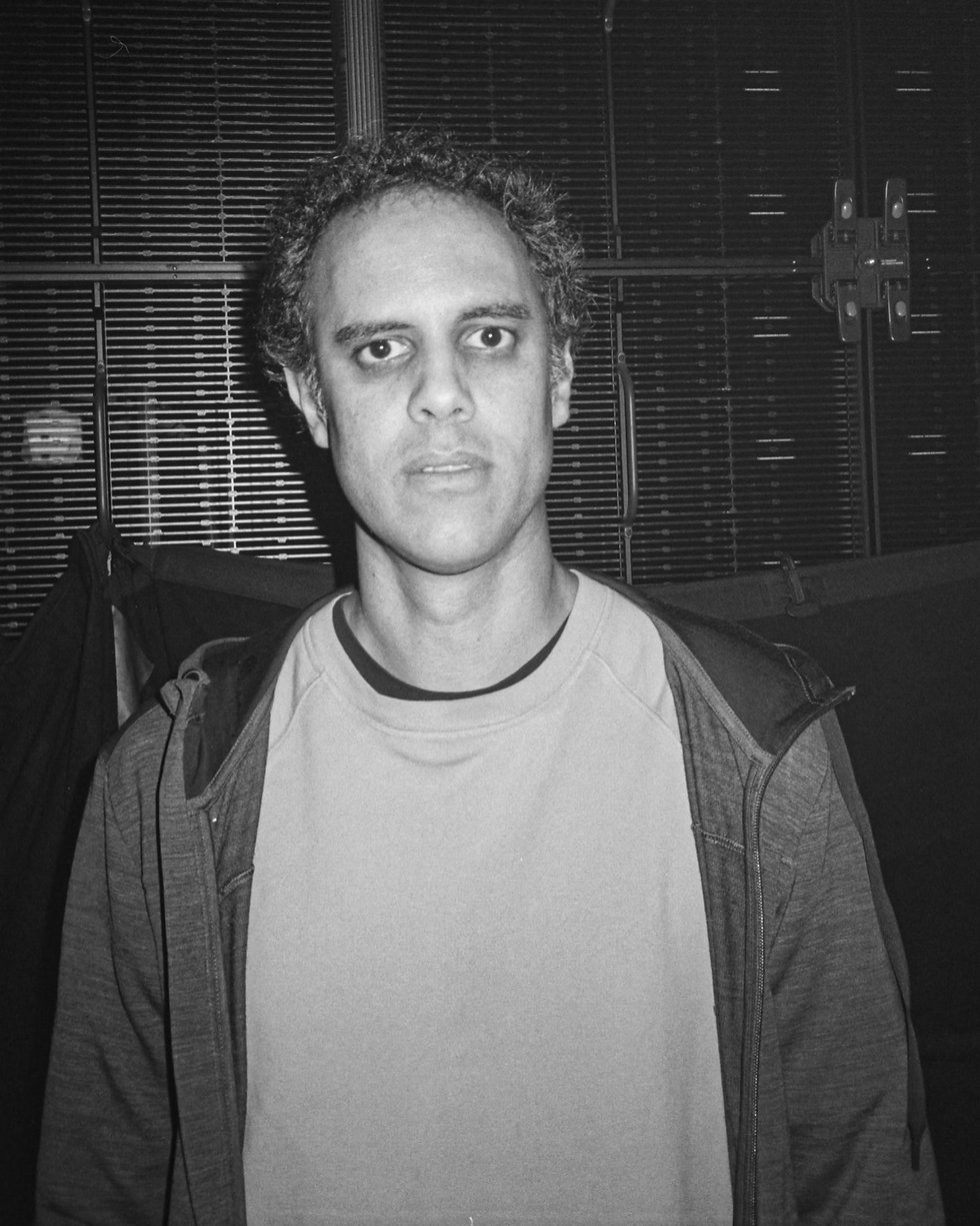 Four Tet Keiran Hebdon at At Warehouse Project Depot Mayfield Manchester. Events, Music Photography. Photo taken by Rob Jones @hirobjones on 35mm film