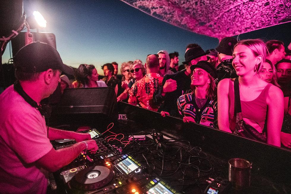 Ruf Dug boat party At Love International Festival. Events, Festival Tisno, Music Photography. Photo taken by Rob Jones @hirobjones