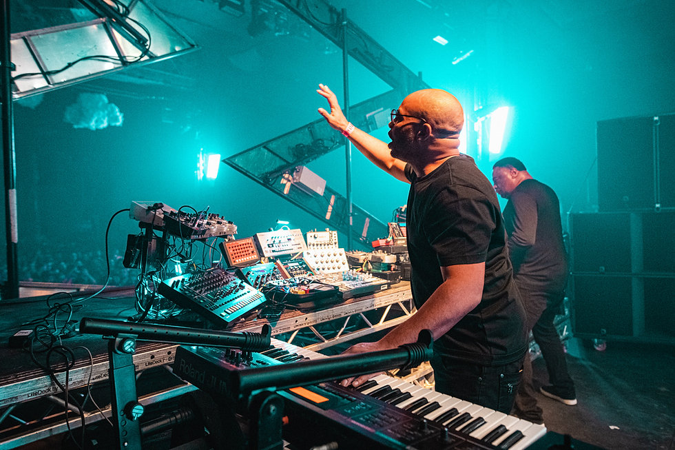 Octave One at Warehouse Project Depot Mayfield Manchester. Events, Music Photography. Photo taken by Rob Jones @hirobjones