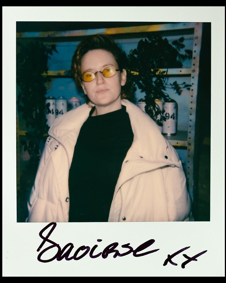 Saoirse Polaroid Originals at Warehouse Project Depot Mayfield Manchester. Events, Music Photography. Photo taken by Rob Jones @hirobjones