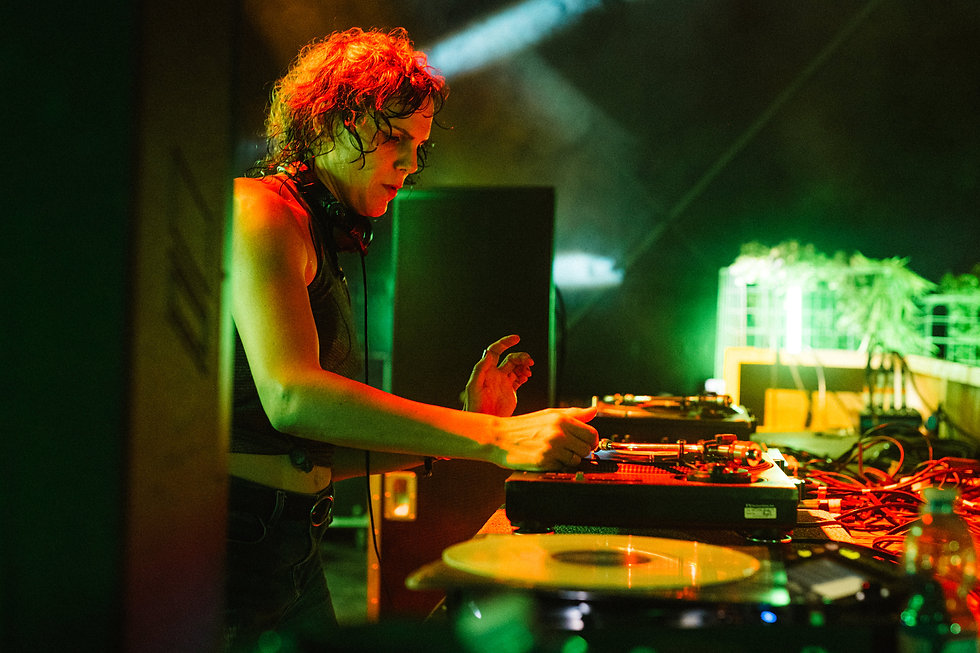 Fort Punta Christo Eris Drew on th Garden stage At Dimensions & Outlook Festival. Events, Festival Pula, Croatia, Music Photography. Photo taken by Rob Jones @hirobjones