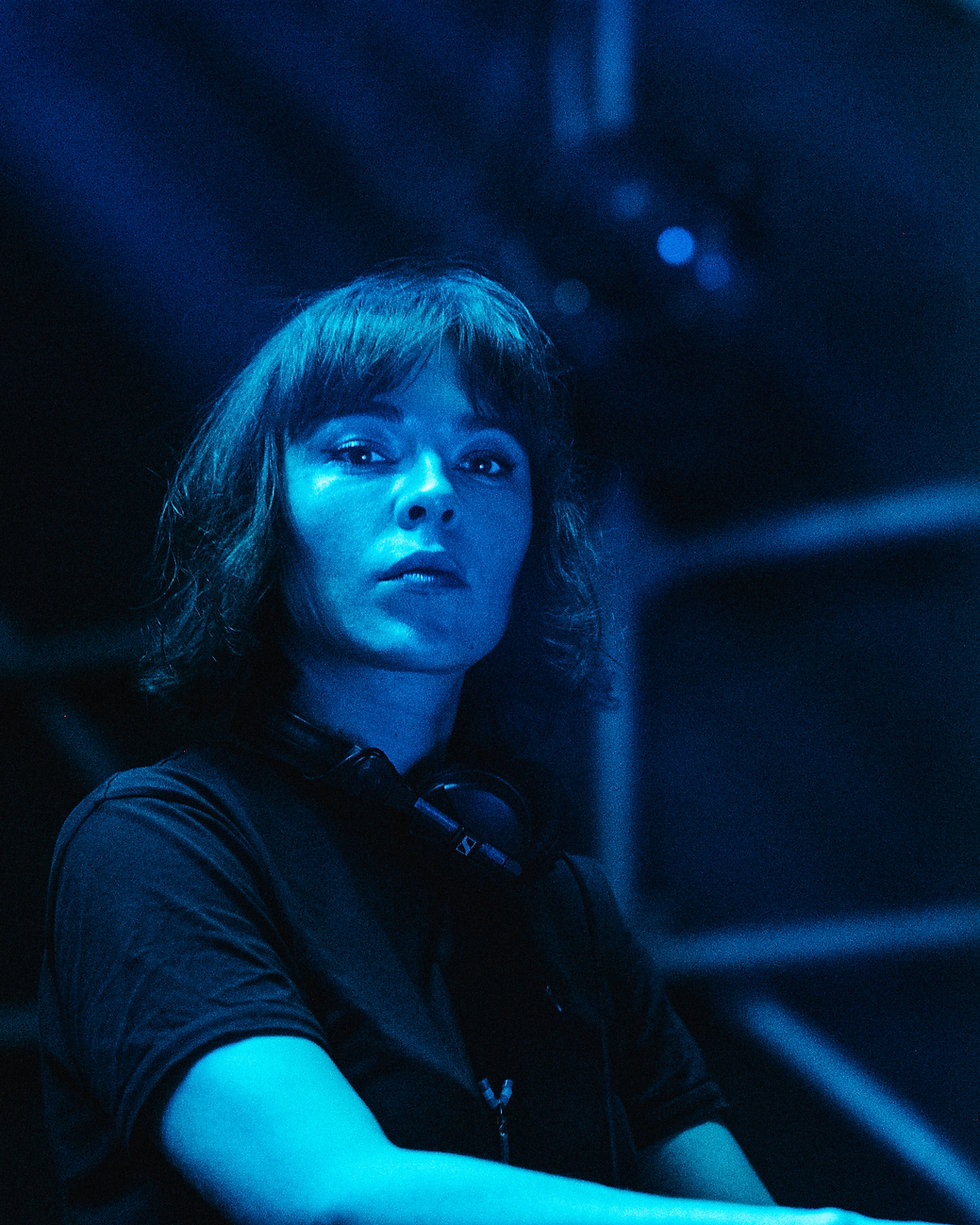 Fort Punta Christo Nina Kraviz on the Clearing stage At Dimensions & Outlook Festival. Events, Festival Pula, Croatia, Music Photography. Photo taken by Rob Jones @hirobjones