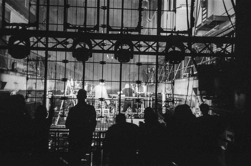 Orbital (Live) at Printworks London Glitterbox Defected Records. Events, Music Photography. Photo taken by Rob Jones @hirobjones 35mm film