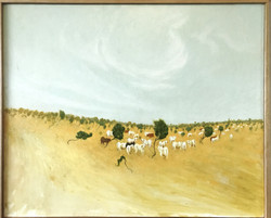 Cows on the Buntine Highway (SOLD)