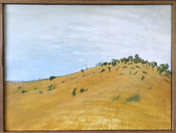 Buntine Highway Colour Sketch (SOLD)