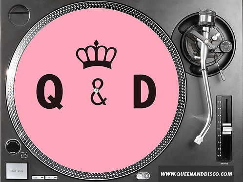 Queen & Disco Slip Mats (Pair)