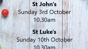 Harvest at St John's & St Luke's