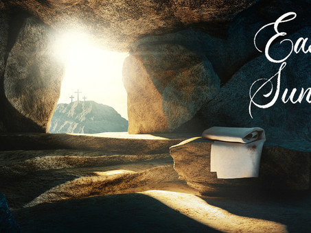 Easter Sunday Communion Service, livestreaming at 10.30am.... please join us