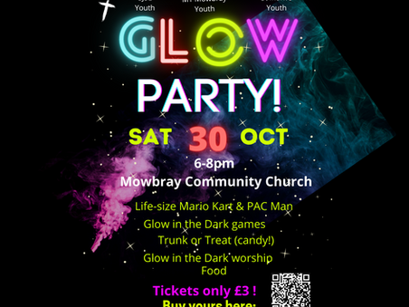 Glow Party at Mowbray Church