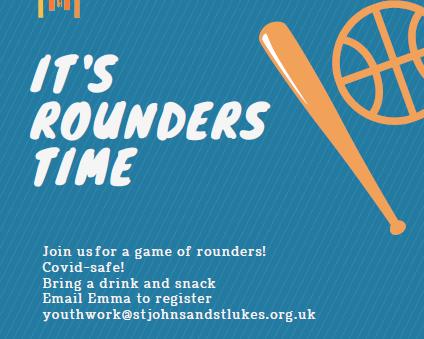 Rounders game - Saturday 10th April