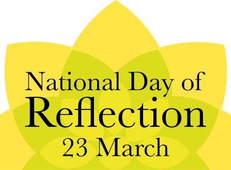 National Day of Reflection - 23rd March