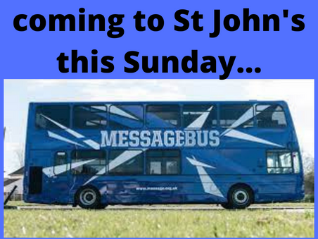 You won't want to miss this on Sunday!!! What is coming to St John's for our young people...