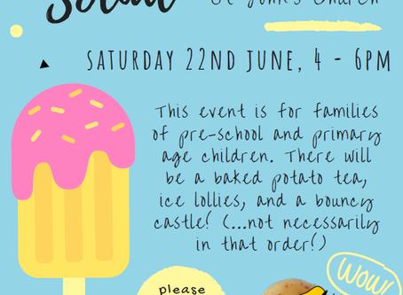 Families Summer Social Event