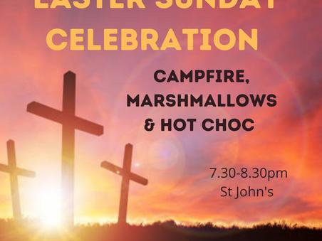Youth Group Easter Sunday celebration