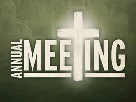 Annual Parochial Church Meeting - this Sunday, 25th April at 11.30am, watch in person or via zoom