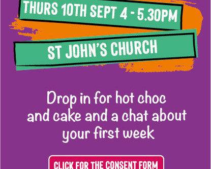 Year 7 New Starters Drop-In at St John's