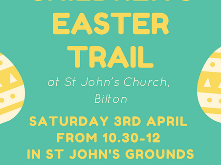 Children's Easter Trail - come and join in on Easter Saturday