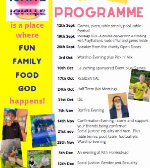 Ignite - Autumn Programme