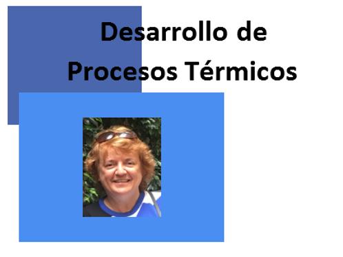 Desarrollo de Procesos Térmicos