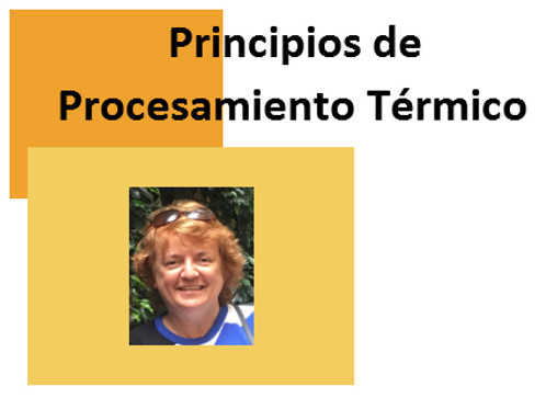 Principios de Procesamiento Térmico