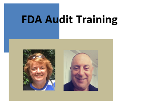 FDA Audit Training