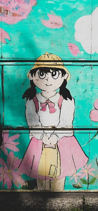 Ogikubo street art