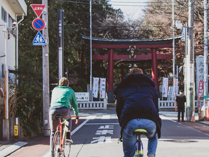 Ride the calm of Tokyo's residential backstreets
