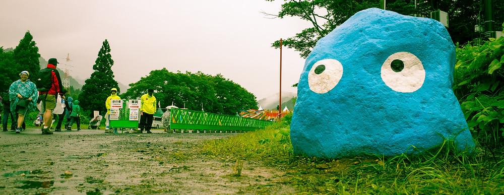 Art installation at Fuji Rock Festival