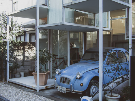 Admire the offbeat architecture in the local side streets