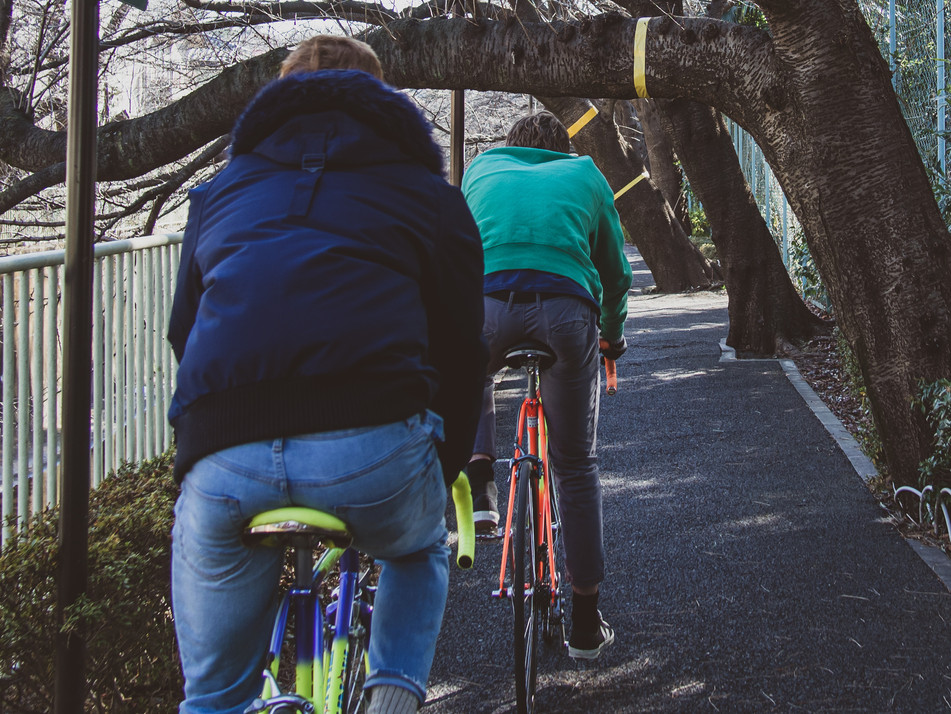 Cycle along Tokyo's picturesque riverside bike paths