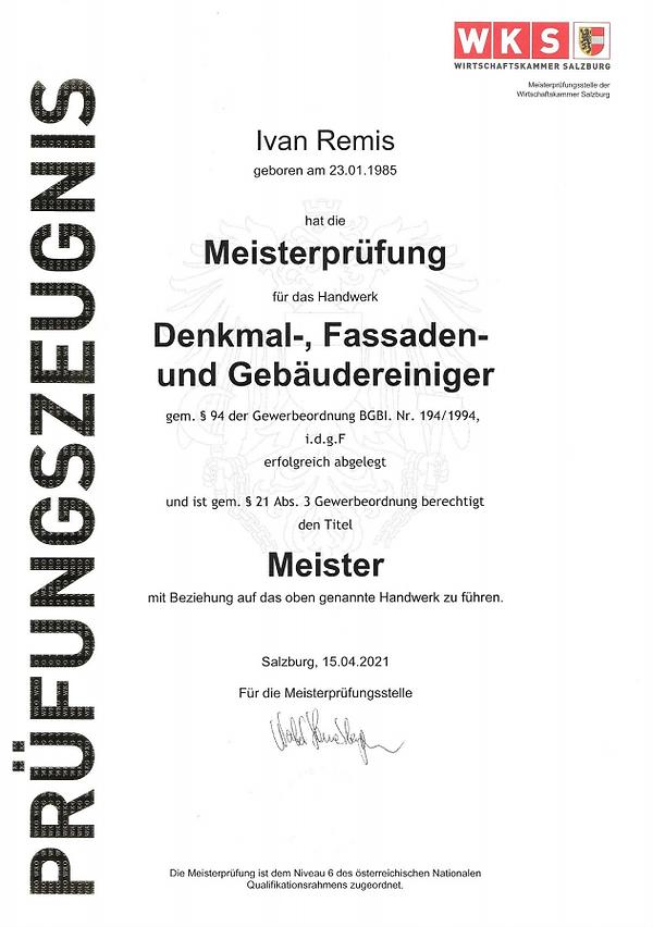Meisterprüfung CleanREMIS.png