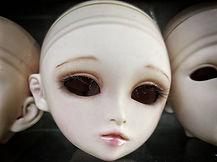 Creepy dolls at Nakano Broadway
