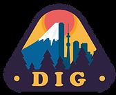 DIG Tokyo Tours Company Logo: Tokyo Cycling Tour Company