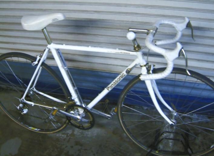 Vintage Japanese Panasonic PC-1200 road bike.