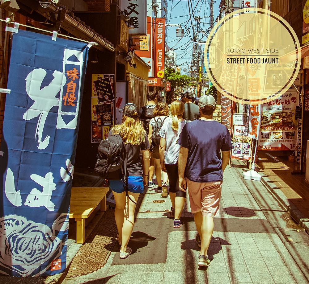 Tokyo Street Food Tour in Nakano and Koenji
