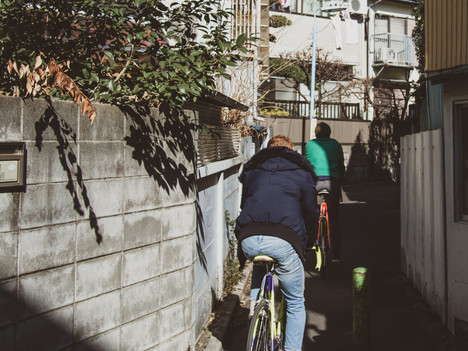 Test your cycling dexterity down Tokyo's hidden laneways