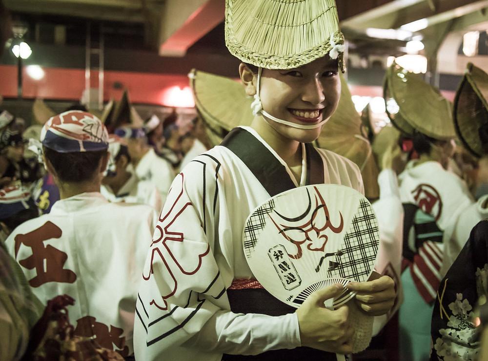 Koenji, Awa Odori dancer.