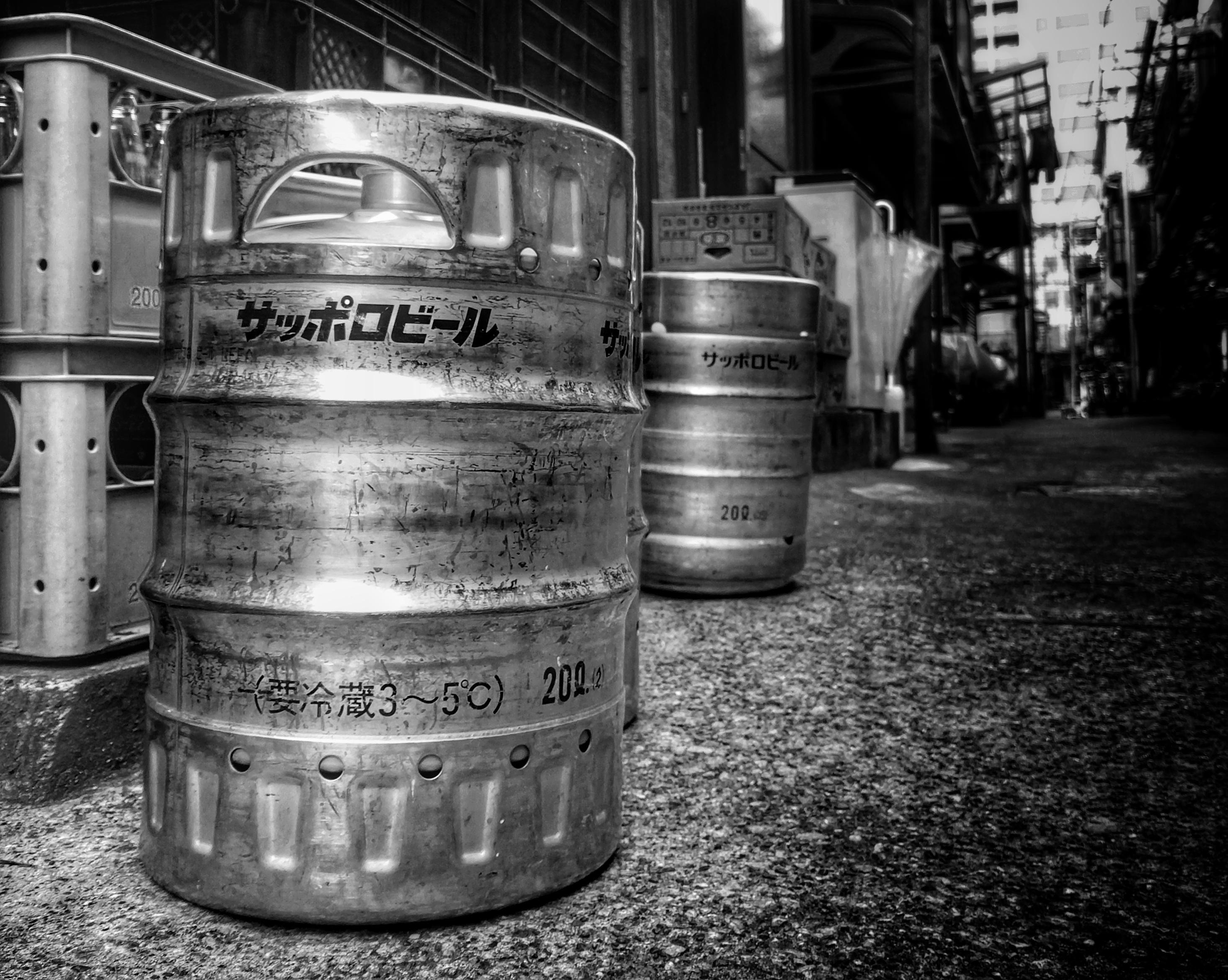 Sapporo Beer Kegs