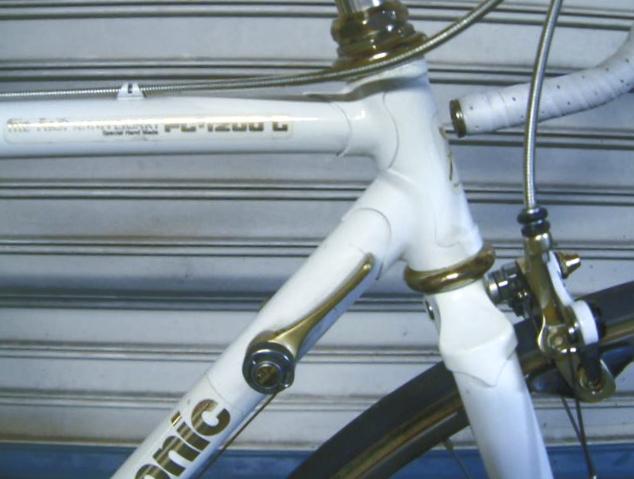 Vintage Panasonic Road Bike PC-1200 Gold Anniversary Limited Edition