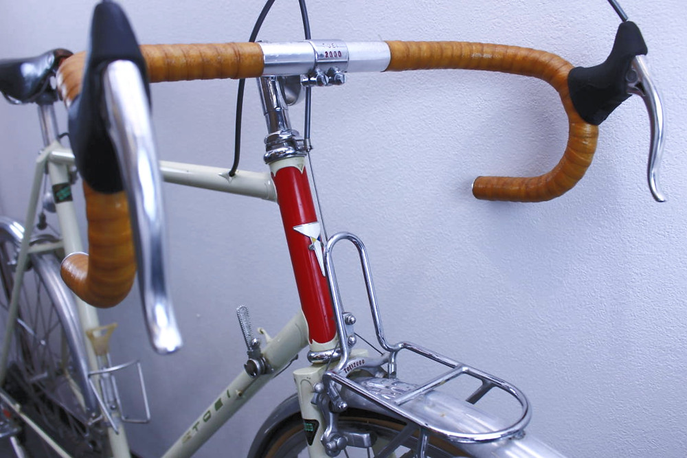 Limited edition Toei bicycles pantographed stem