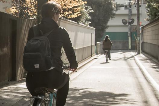 Ride Tokyo's picturesque neighbourhood streets