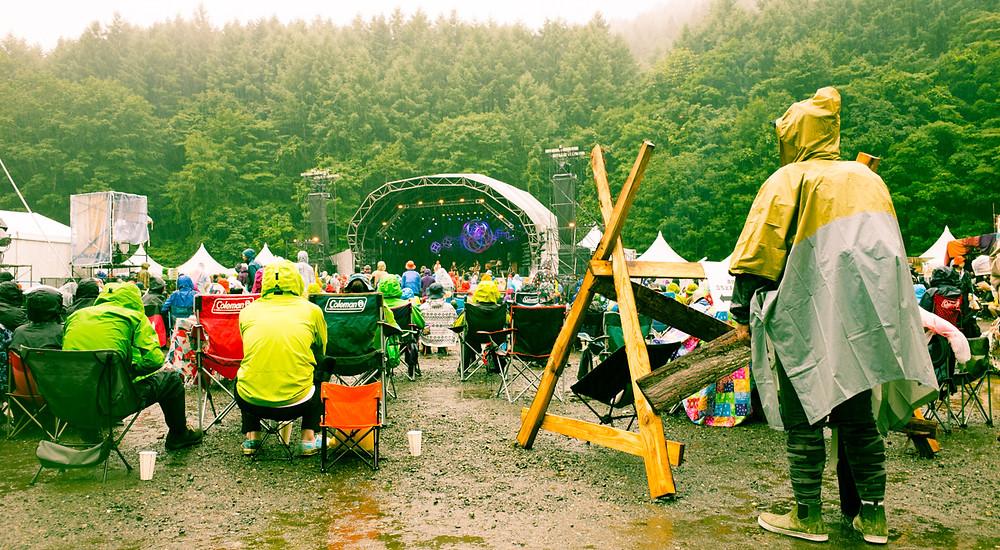 Field of Heaven Stage at Fuji Rock Festival.