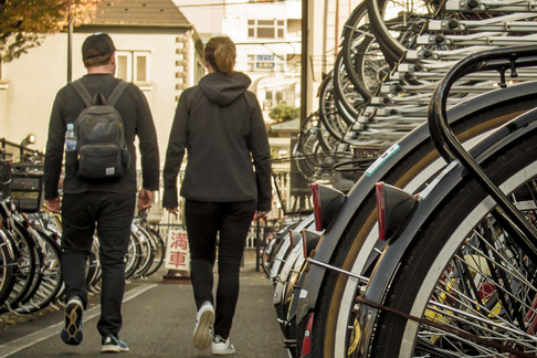 Experience Tokyo's bicycle parking systems first hand