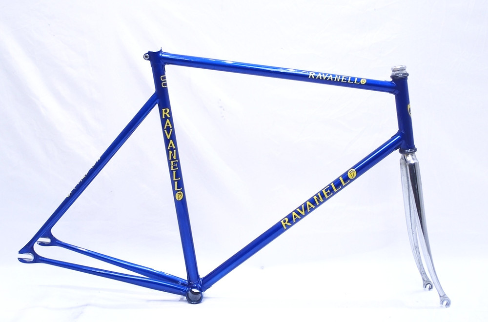 Ravanello bicycle frame with Campagnolo dropouts