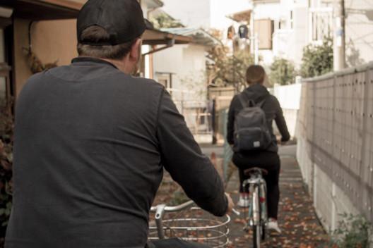 Cycle Tokyo's twisting laneways and narrow backstreets