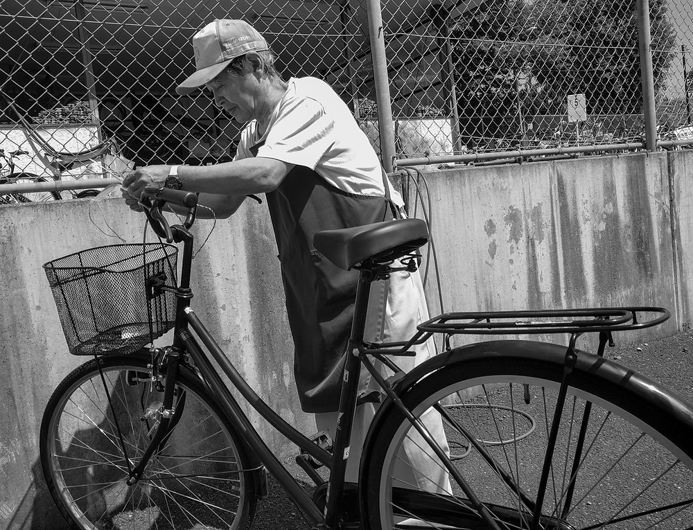 Japanese bicycle registration system, Suginami Silver Jinzai Center.