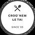 Logo Croq' Nem Le Tai