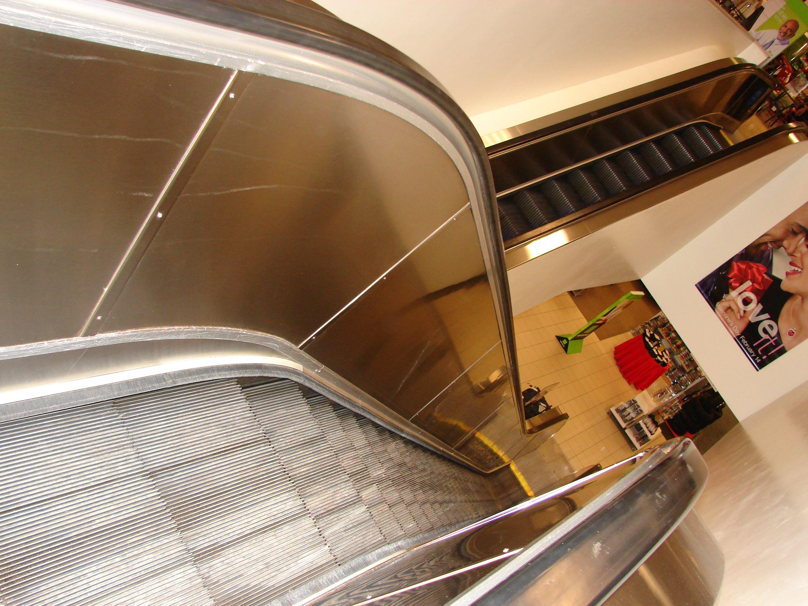 Stainless Steel Escalator Trim