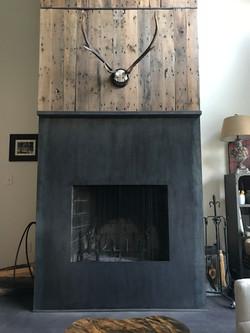 Steel Fireplace Surround