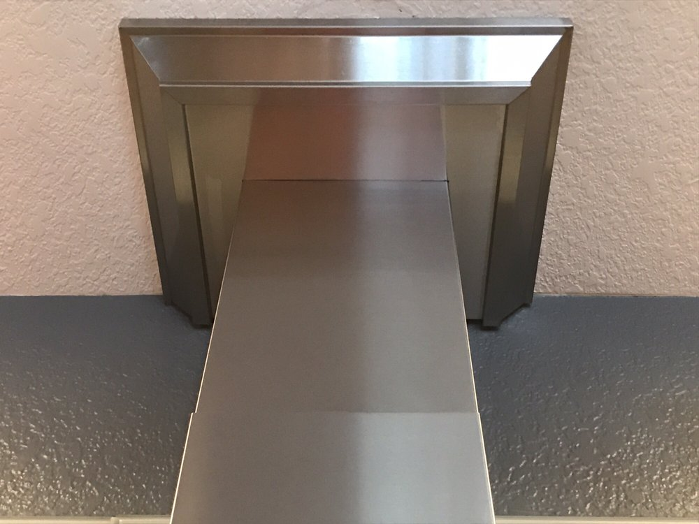 Stainless Steel Vent Hood Trim